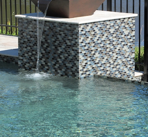 Swimming Pool Glass Tile Gallery