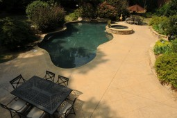 Complete Outdoor Living Area