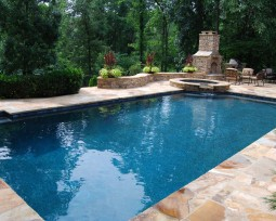 Gunite Pool & Outdoor Living Area
