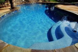 PebbleTec Pool, Tahoe Blue