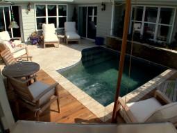 Gunite Patio Pool
