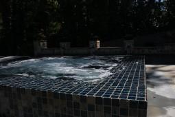 Tiled Hot Tub