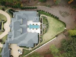 Drone Footage of Gunite Pool Design